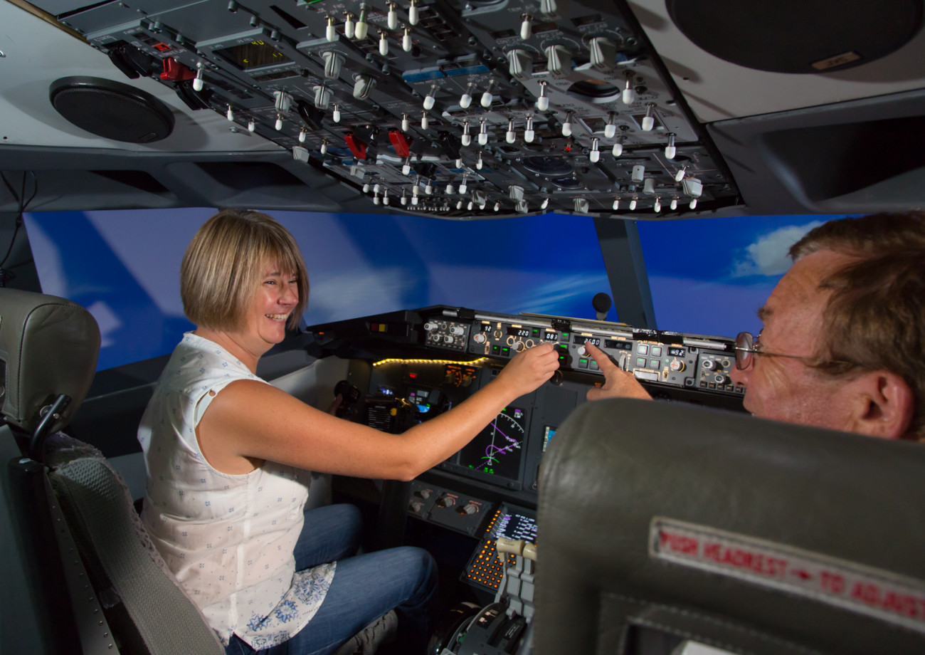 flight simulator exeter